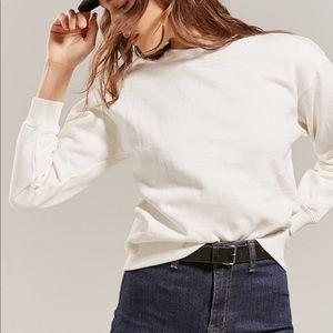 Urban Outfitters Freshman Sweatshirt White